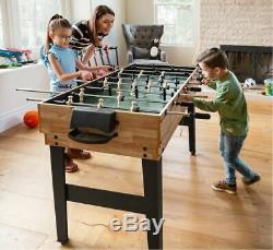 10 in 1 Foosball Pool Shuffleboard Ping Pong Hockey Billiards Game Table Set NEW