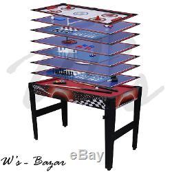 14 in 1 Multi Game Table Sportcraft 48 Billiard Hockey Table Tennis Basketball