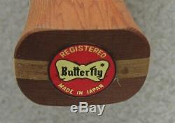 1970's BUTTERFLY SOL SCHIFF ELEGANCE MODEL TABLE TENNIS RACKET MIB