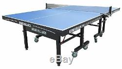 25mm TABLE TENNIS / PING PONG TABLE in BLUE BERNER BILLIARDS 2500 INDOOR USE