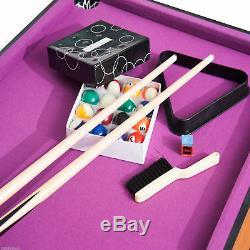 3-In-1 Multi-use Kids Mini Game Table Billiards Table Tennis & Air Hockey Set