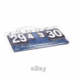 3 tlg Tischtennis Set XL, Schlägerset 2 Sterne, Tischtennisplatte, Zählgerät