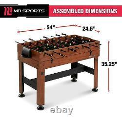 4 In 1 Combo Game Table Foosball Hockey Table Tennis Billiards Built In Storage
