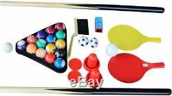 4 in 1 Multi Games Table Pool/ Foosball Football/ Air Hockey/ Table Tennis