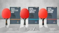 5-STAR STIGA ROYAL Table Tennis Ping Pong Bat Racket Paddle PRO High Quality