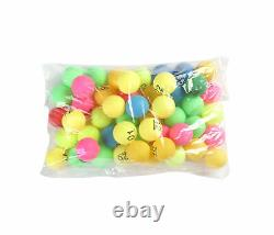 50 x Numbered Ping Pong Table Tennis Balls 40mm Tombola Lottery Numbers 1 to 50
