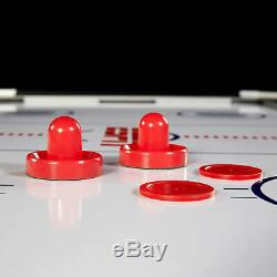 Air Hockey Table Table Tennis Top Electronic Powered Indoor Sports InRail Scorer