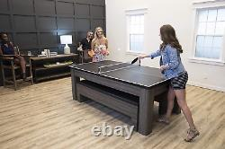Atomic Northport 3-In-1 Dining Table With Air-Powered Hockey And Table Tennis