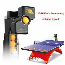 Auto Table Tennis Robot Ping Pong Ball Machine Pro Training Robot 50W