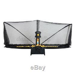 Automatic S6-PRO Table Tennis Robot Ping-pong Ball Machine Multi-rotatio 50W