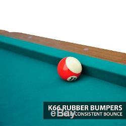 Billiard Pool Table Set 87 EastPoint w Ping Pong Table Tennis Top Indoor Game