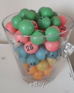 Bingo Blower Balls Bingo Balls 38mm Table Tennis Balls Vintage Used