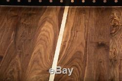 Black Walnut Regulation Ping Pong Table Tennis Table with Steel Net