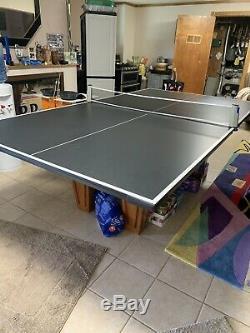 Brunswick Slate top Pool Table 7Ft/ Ping Pong Top