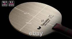 Butterfly Apolonia ZLC FL, ST Blade Table Tennis, Ping Pong Racket, Bat