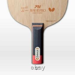 Butterfly Fukuhara Ai PRO ZLF Blade Table Tennis Ping Pong Racket (ST/FL)