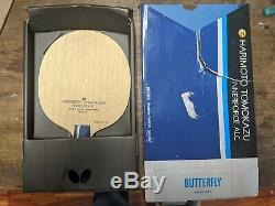 Butterfly Harimoto Tomokazu-Innerforce ALC Blade Table Tennis Racket (FL)