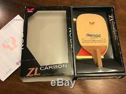 Butterfly Haruvatart ZL Carbon J-Pen Penhold Table Tennis Blade Hinoki Ping Pong