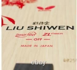 Butterfly Liu ShiWen ZLF FL, ST Blade Table Tennis, Ping Pong Racket, Bat