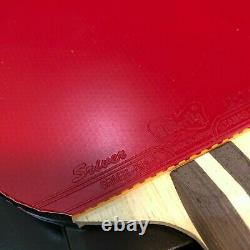 Butterfly Primorac FL Blade with Sriver Rubbers Table Tennis Bat Paddle Ping Pong