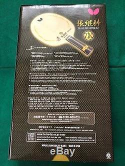 Butterfly SUPER ZLC Zhang Jike FL 36541 Table Tennis Racket Flare Japan F/S NEW