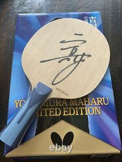 Butterfly Table Tennis Blade Limited Edition Signed New Sealed Last One