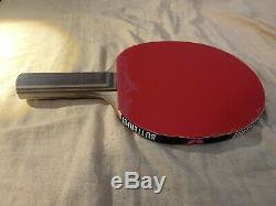 Butterfly Table Tennis Peter Korbel with Tenergy80 & Corbor Rubbers Paddle