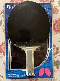Butterfly Table Tennis Viscaria ALC-FL Blade withTenergy05/Corbor Rubbers Paddle