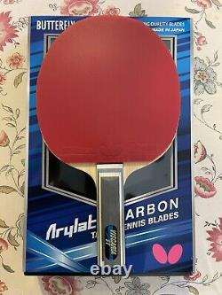 Butterfly Table Tennis Viscaria withTenergy64/Corbor rubbers paddle