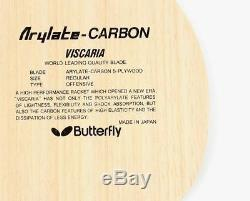 Butterfly Viscaria FL Blade Table Tennis, Ping Pong Racket, Paddle Made in Japan