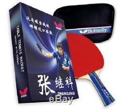 Butterfly Zhang Jike Box Set Table Tennis Racket and Case with FREE Shipping