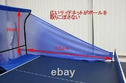 Calflex table tennis net ping-pong machine net compatible Training Wideangletype