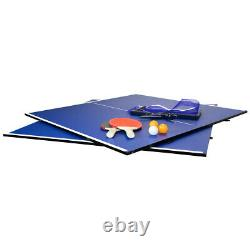 Charles Bentley 6ft Table Tennis Ping Pong Top And Dining Table Top