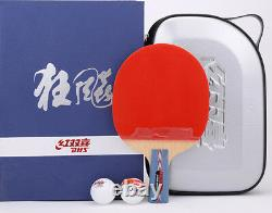 DHS Hurricane #1 No. 1 Table Tennis Paddle, PingPong Racket, Chinese Penhold, AUD