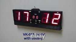 Digital Score Keeper for Table Tennis (Ping Pong), Electronic Scoreboard