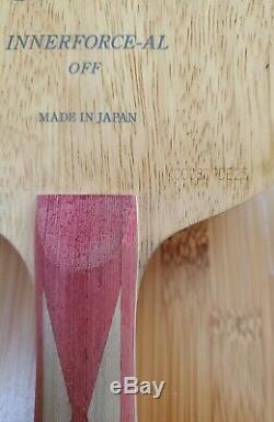 Discontinued Bty Innerforce AL FL Table Tennis Blade/ Racket/ Paddle/ Bat