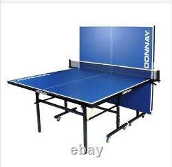 Donnay Table Tennis Indoor Outdoor Home Ping Pong Professional Folding Set Bat