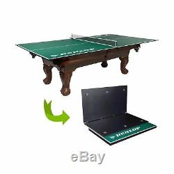 Dunlop Official Size Table Tennis Conversion Top, 100% Pre-assembled, Include