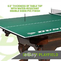 Dunlop Official Size Table Tennis Conversion Top Pre-assembled with Post Ping Pong