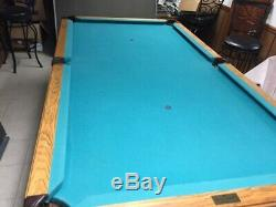 Dynamo McIntire Pool Table and Tiga Ping Pong Table Top and Accessories