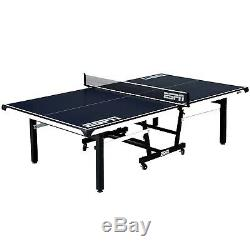 ESPN Official Size 2-Piece Table Tennis Table with Table Cover, Includes Premium