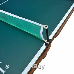 EastPoint Sports 87 Sinclair Billiard Pool Table with Table Tennis Top Green