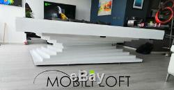 Exclusive Design 8´´ Minimalist Elegant Pool Table, Ping Pong And Dining Table