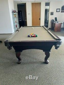 GAMES & THINGS Indoor Sturdy Professional Pool Table + Ping Pong Top