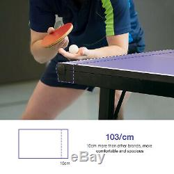 GOLDORO Table Tennis Table Outdoor/Indoor MultiUse Pingpong table Easy Attach