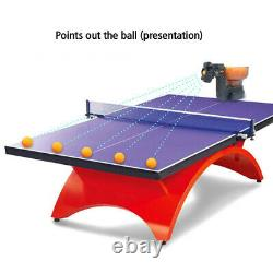 HP-07 Training Exercise Ping Pong Robots Table Tennis Automatic Ball Machine USA