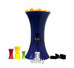 IPong Table Tennis Training Robot Oscillation Wireless Remote Adjustable New