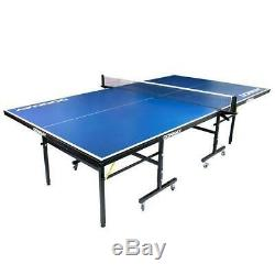 Indoor Outdoor Table Tennis Table Fixed with Bats and Balls Adjustable Feet