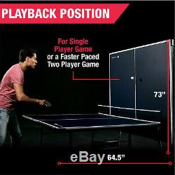 Indoor Play MD Sports 4 Piece Table Tennis Ping Pong Kids Fold-Up 9x5