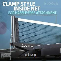 JOOLA Inside Professional MDF Indoor Table Tennis Table with Quick Clamp Ping